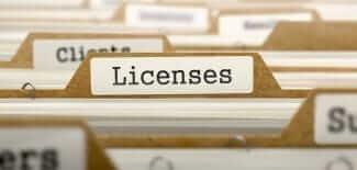 Архив лицензий